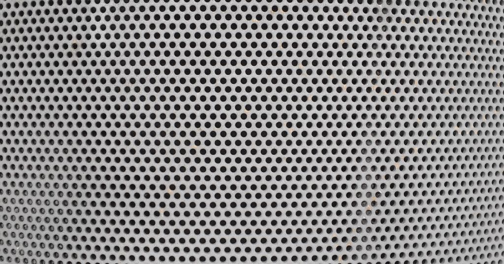 perforated metal screen at Orlando