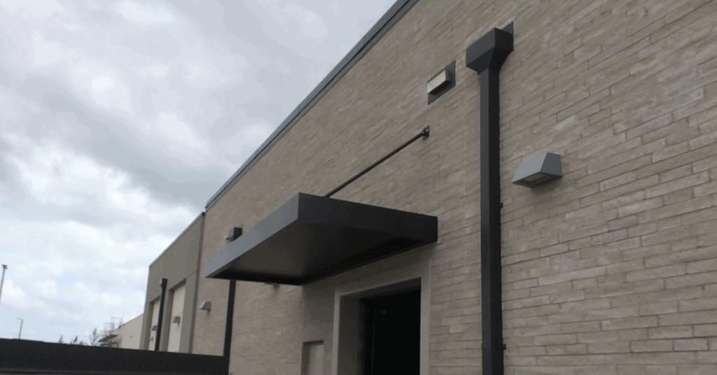 custom metal canopy in orlando