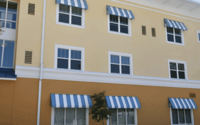 5 Industries That Benefit From Metal Awnings on Their Buildings