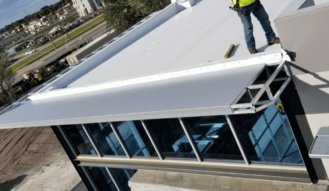 The Benefits of ACM Wrapped Canopies Over Sheet Metal