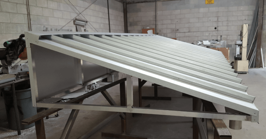 commercial metal awnings near Orlando